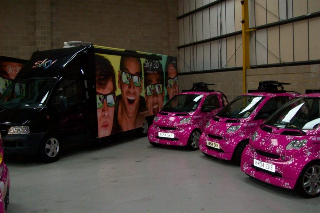 PPM TV Company Fleet Livery