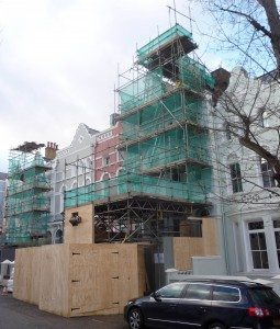 before building wrap and hoarding