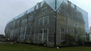 Mesh Building Wrap Screen