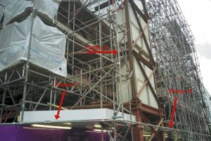 How to get scaffolding prepared for Building wrap