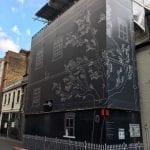 Artistic hoardings around construction sites giving local community some creative pleasure