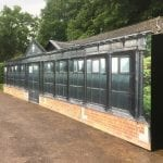 Decorative Hoarding Concealing Pavilion Renovation Work