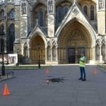 Westminster Abbey Drone Photography and Video