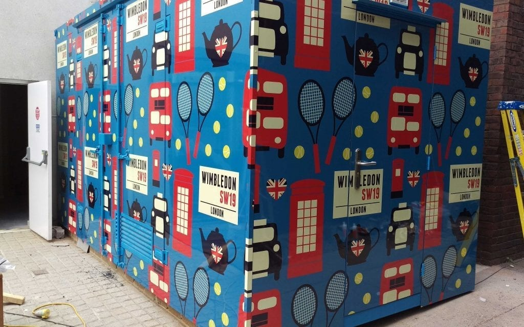 Container wrap