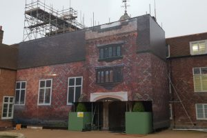Fulham Palace phase 2 Building Wrap Print