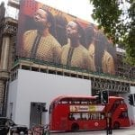 Building wrap artwork for Somerset House, Strand, London.